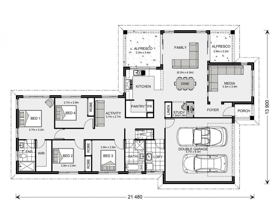 Parkview 215 - Express Series Floorplan