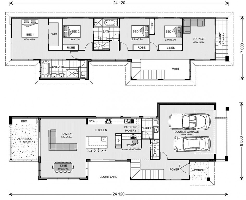 Nelson Bay 294 - Prestige Series Floorplan