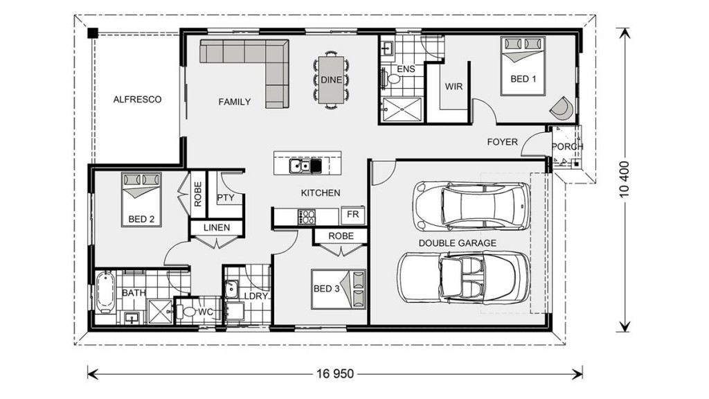 Nova - Express Series Floorplan