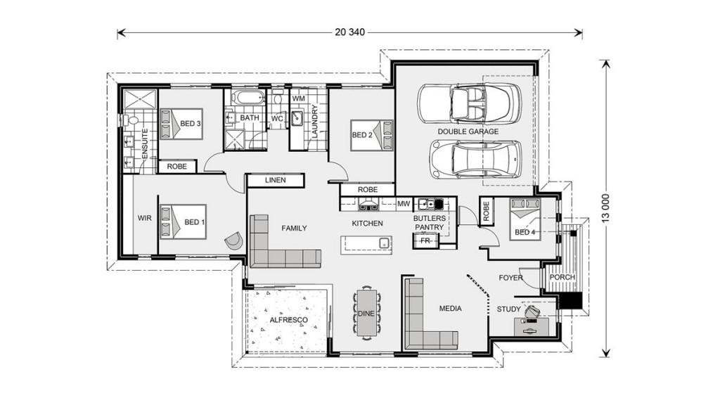 Bedarra 213 Floorplan