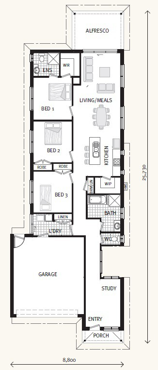 Hawkstowe - Express Series Floorplan