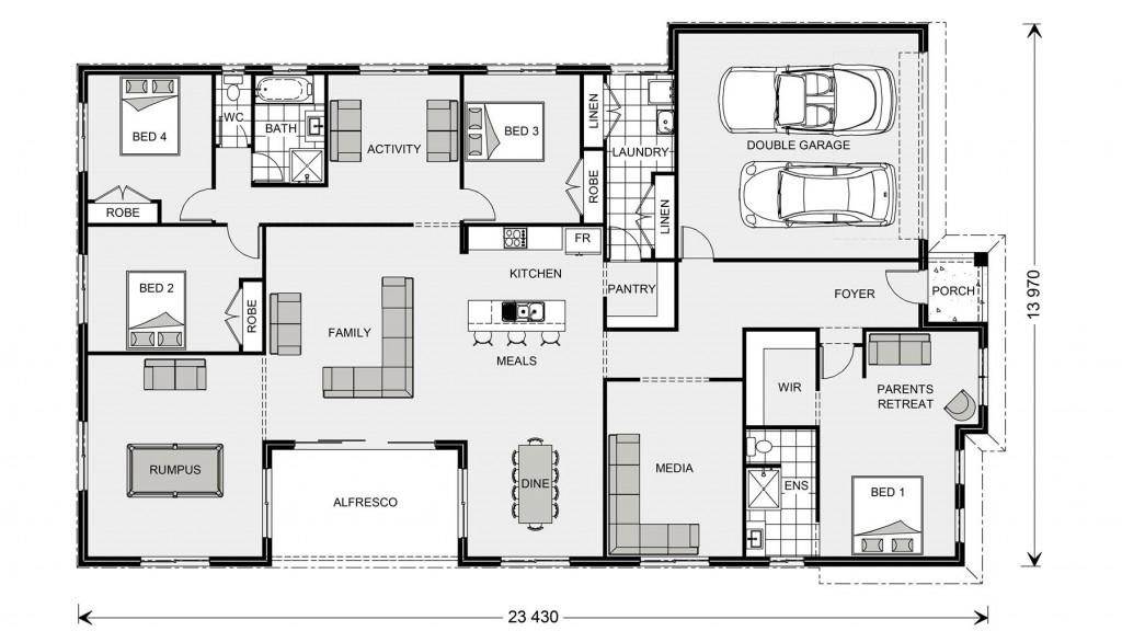 Springbrook 300 - Element Series Floorplan
