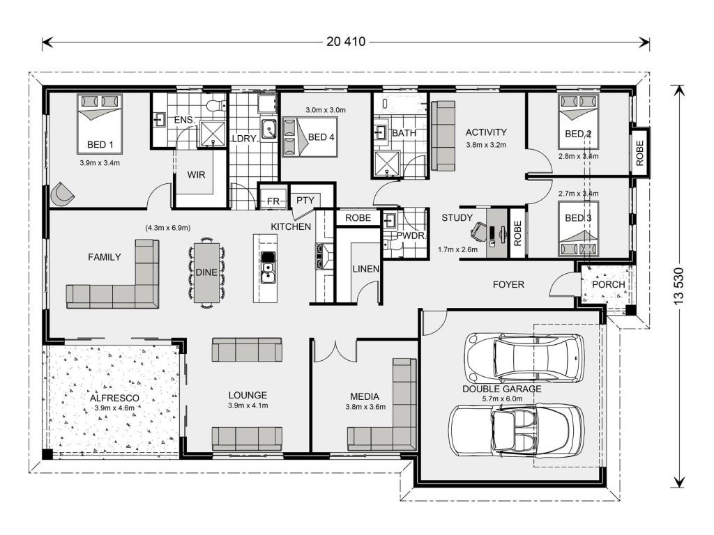Iluka 251 - Element Series Floorplan