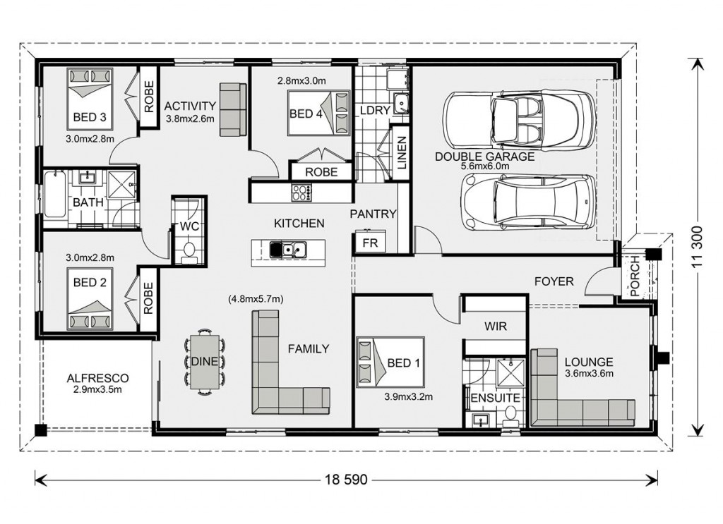 Brookfield 204 - Express Series Floorplan