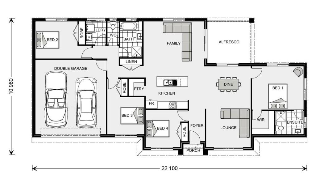 Wishart 206 - Express Series Floorplan