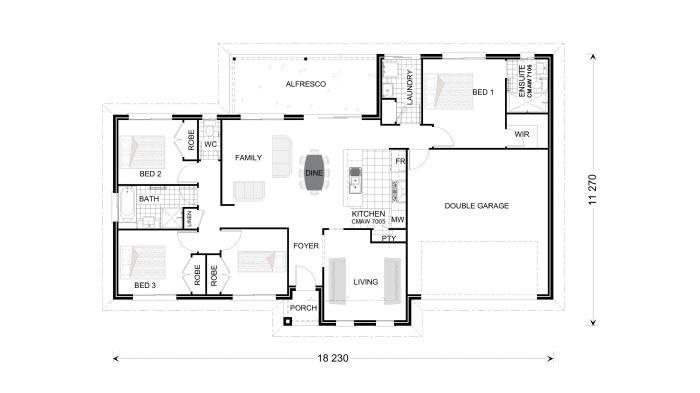 Bridgewater 179 - Estate Series Floorplan