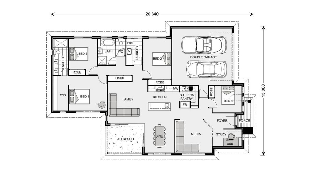 Bedarra 213 Floorplan