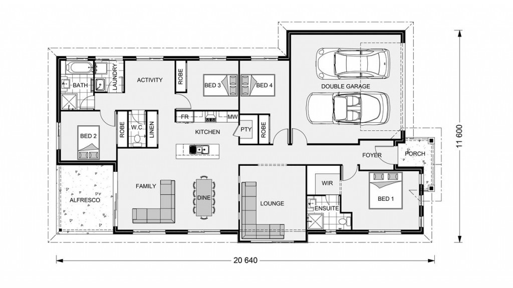 Bridgewater 203 Floorplan