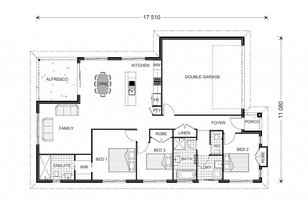 Denver 166 Floorplan