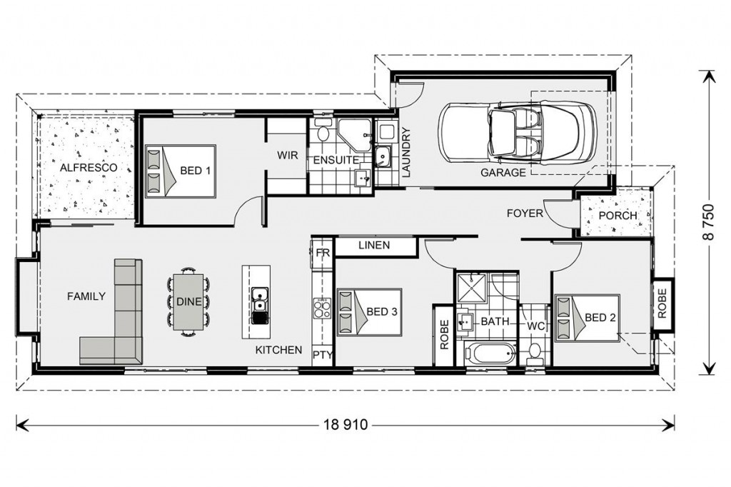 Forestdale 143 - Element Series Floorplan