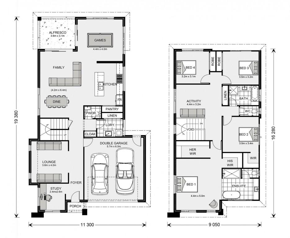 Elwood 303 - Element Series Floorplan
