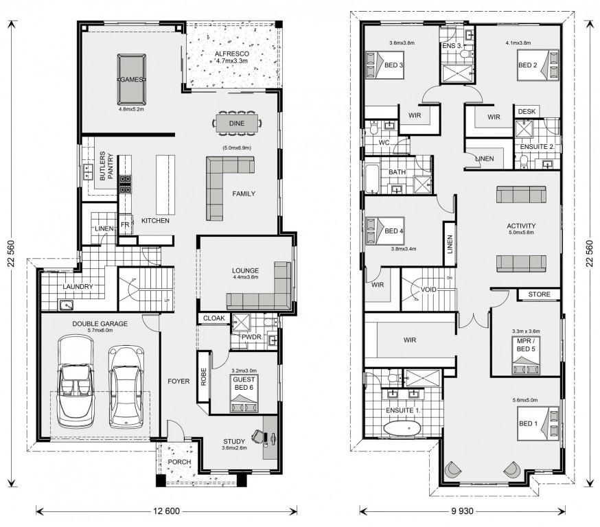 Manhattan 440 - Element Series Floorplan