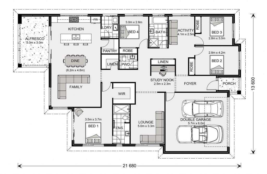 Newport 247 - Element Series Floorplan