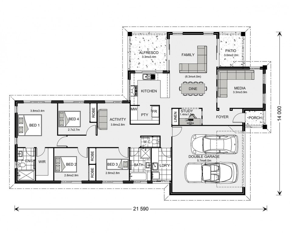 Parkview 215 Floorplan
