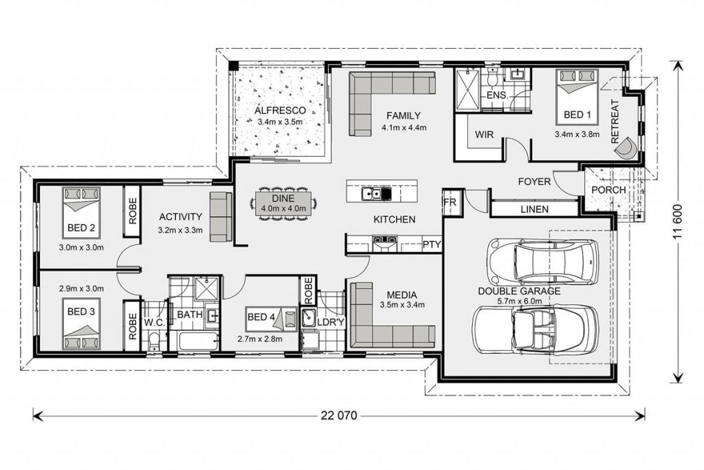 Coolum 206 Floorplan