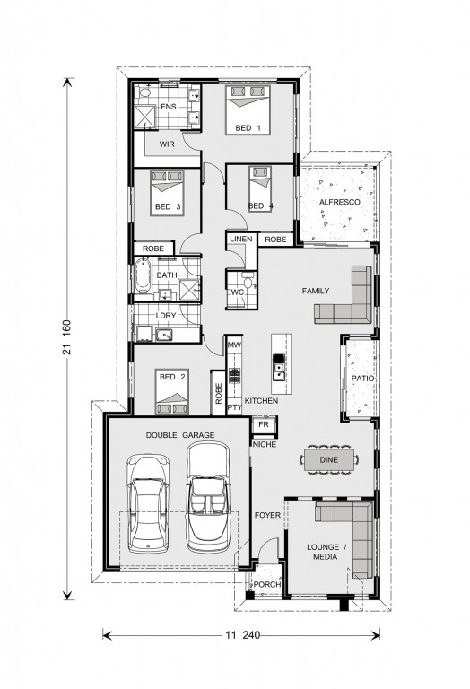Oceanside 206 Floorplan