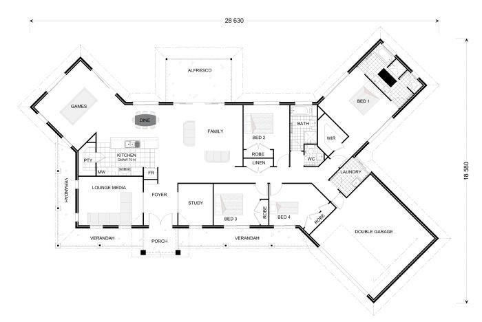 Kingaroy 302 Estate - Award Series Floorplan