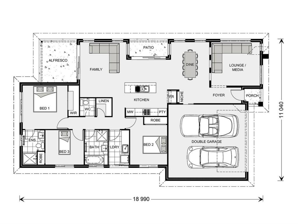 Oceanside 186 - Element Series Floorplan