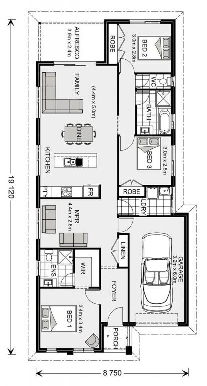 Stonehaven 153 - Express Series Floorplan