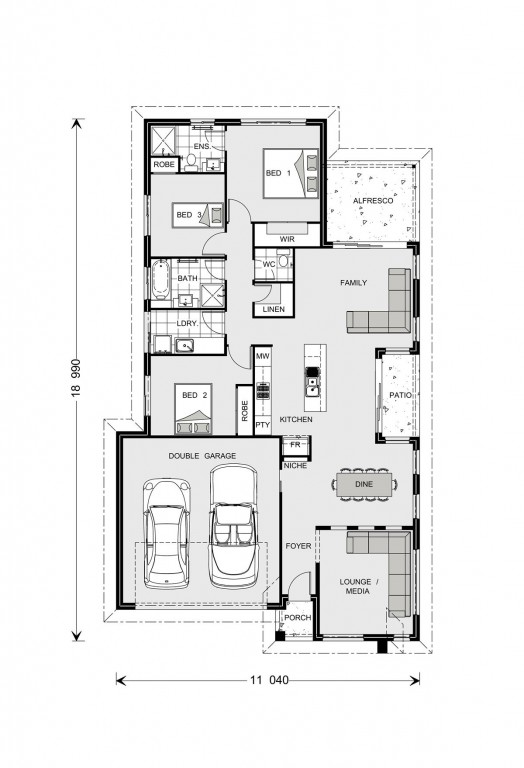 Oceanside 186 Floorplan