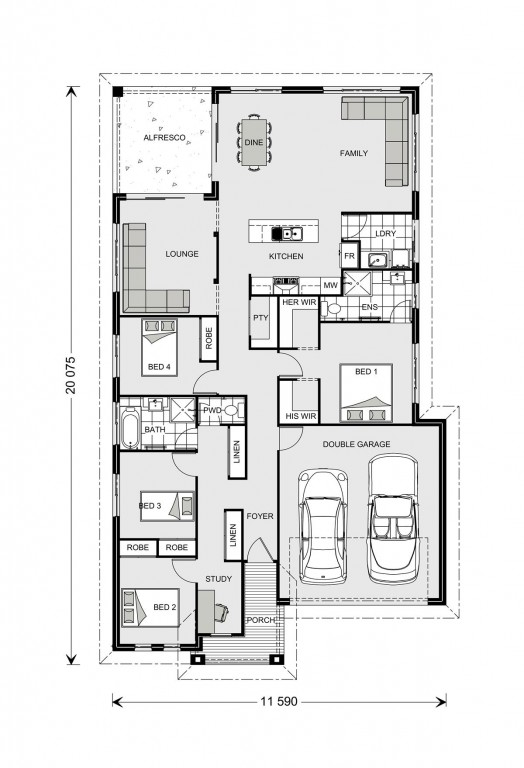 Casuarina 209 Floorplan