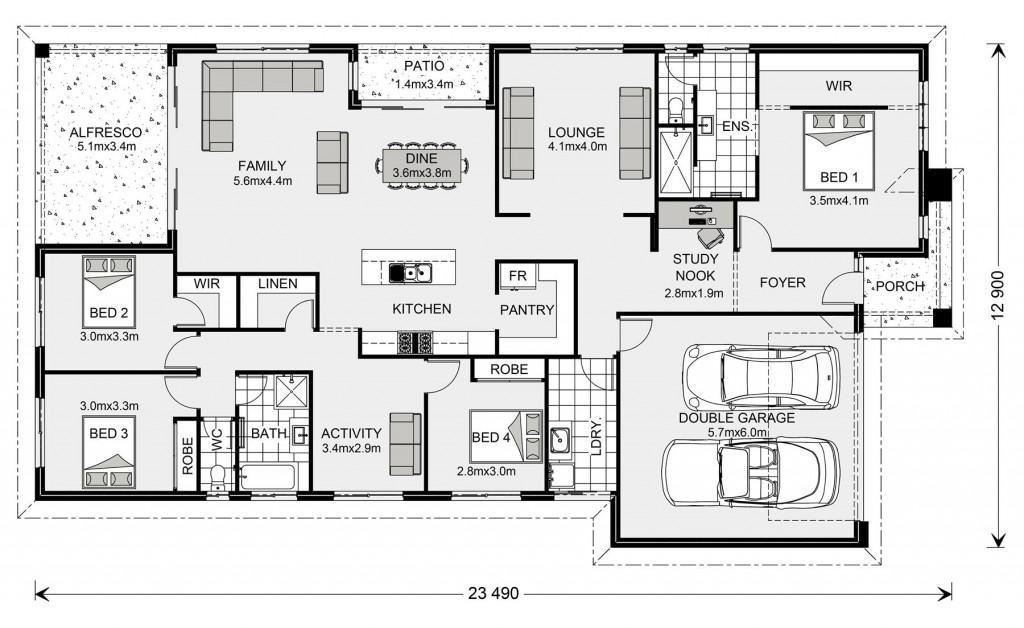 Portside 270 Floorplan