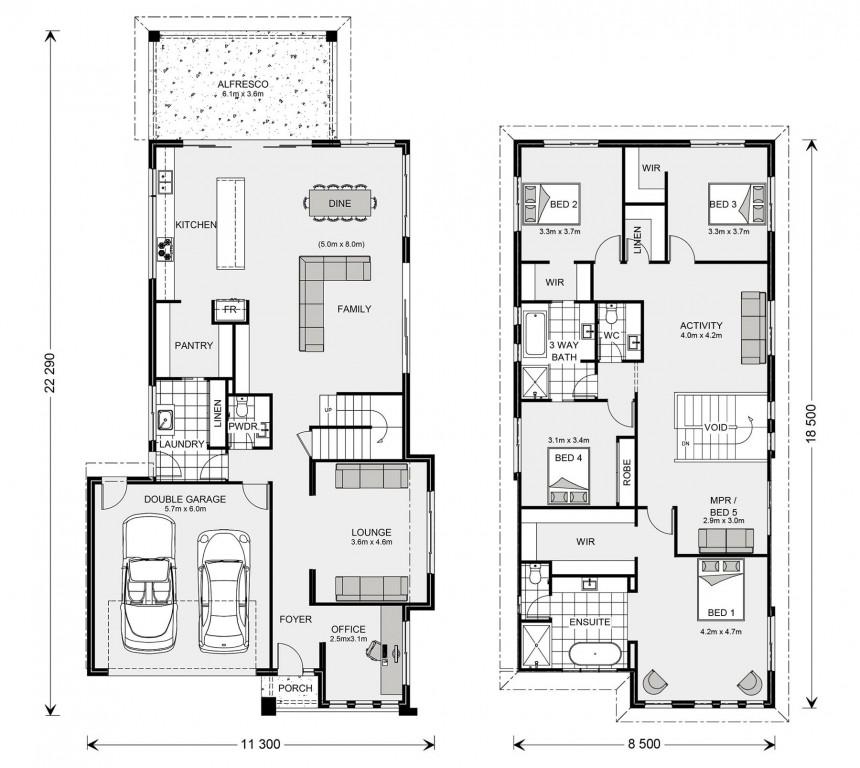 Kingscliff 354 - Element Series Floorplan