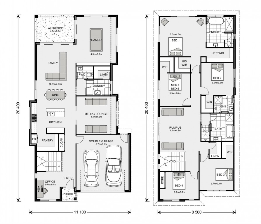 Coogee 362 Floorplan