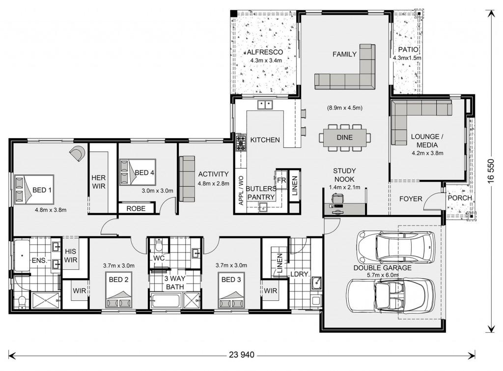 Parkview 290 Floorplan