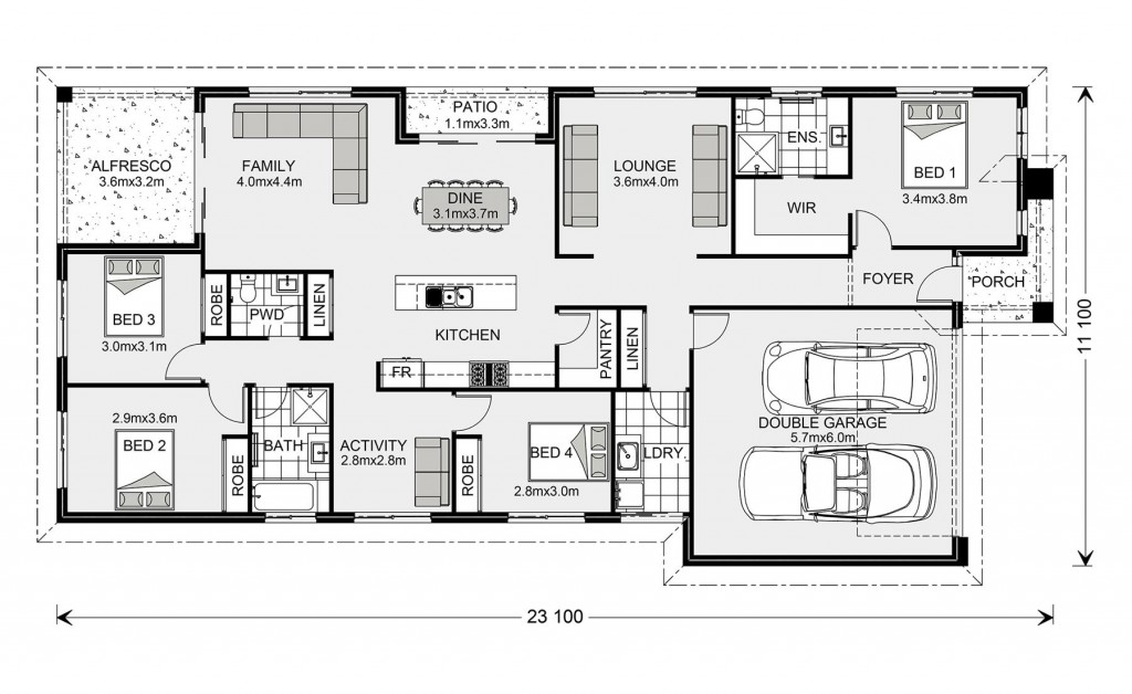 Portside 229 Floorplan
