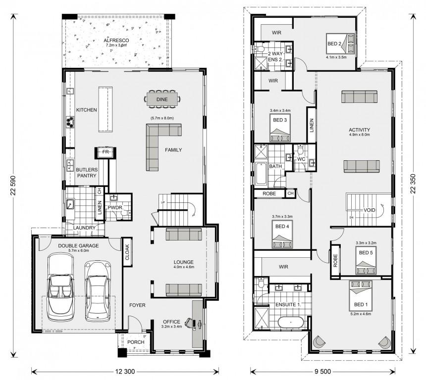 Kingscliff 421 - Element Series Floorplan