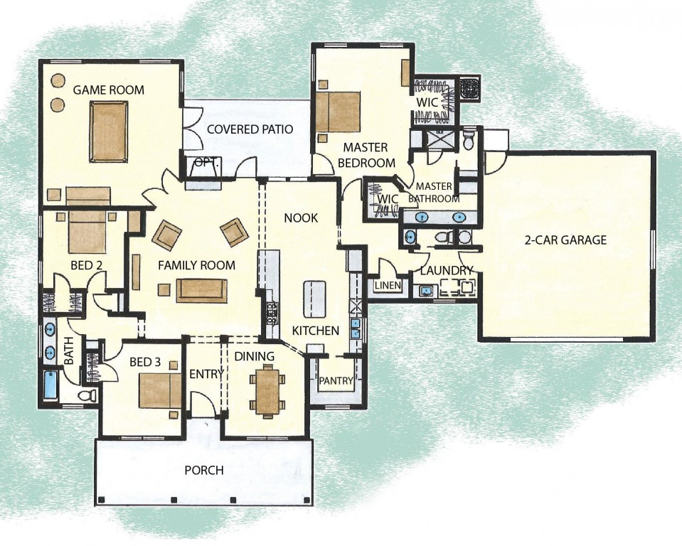 Country 2507 Floorplan