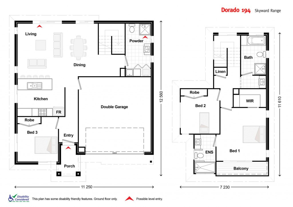 The Dorado 194 - Element Series Floorplan