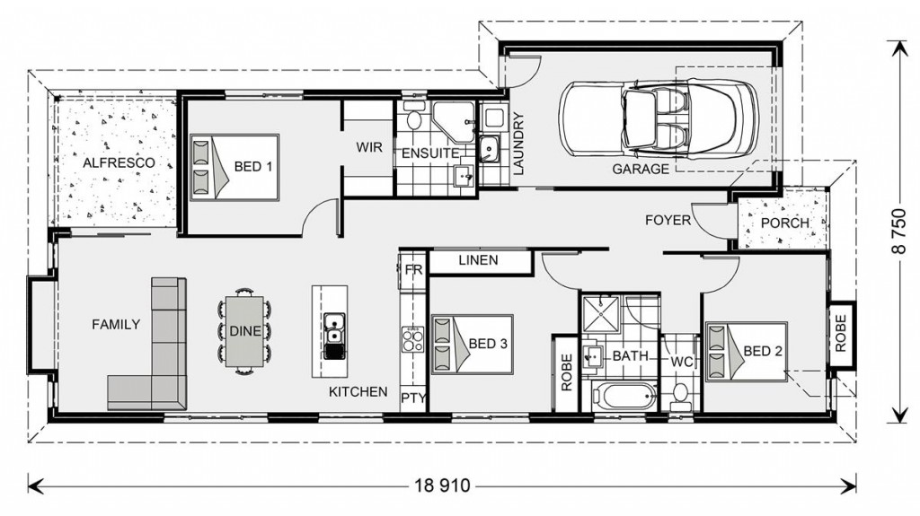 Forestdale 143 Floorplan