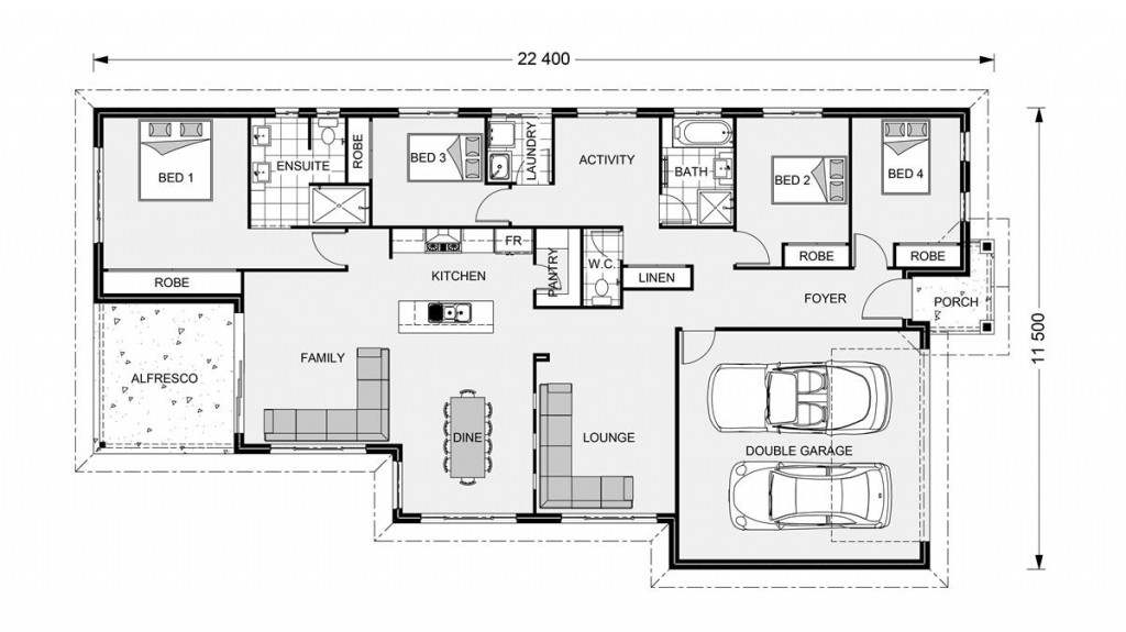 Bridgewater 217 - Element Series Floorplan
