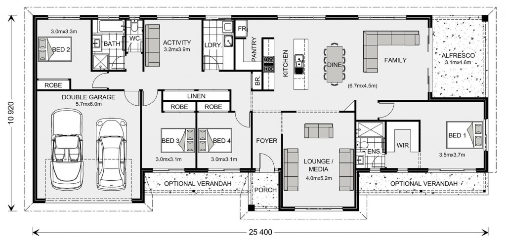 Longreach - Homestead Series Floorplan