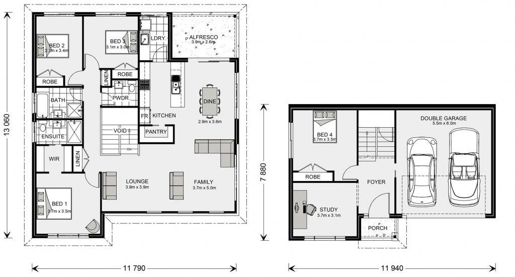 Windsor 233 SL Floorplan