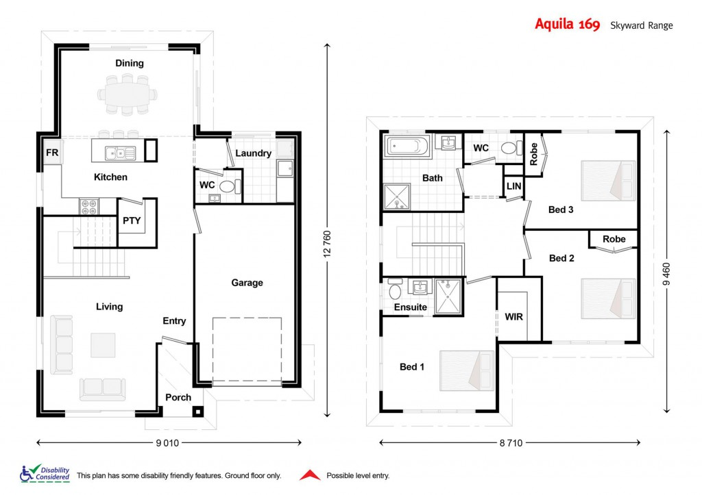 Aquila 169 Floorplan
