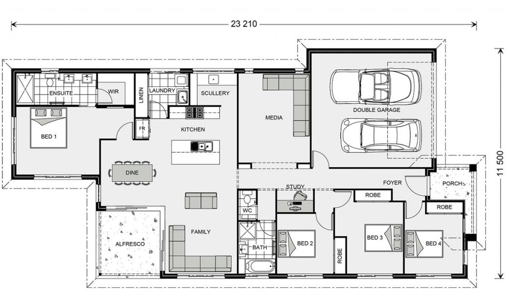 Edgewater 219 - Element Series Floorplan