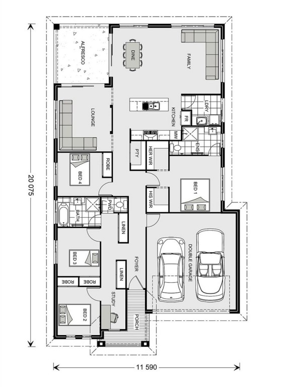 Casuarina 255 - Element Series Floorplan