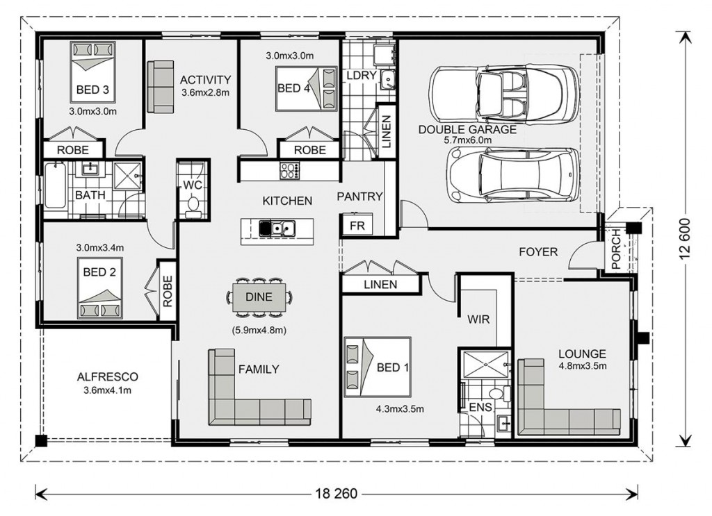 Brookfield 224 Floorplan