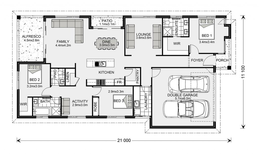 Portside 211 - Element Series Floorplan