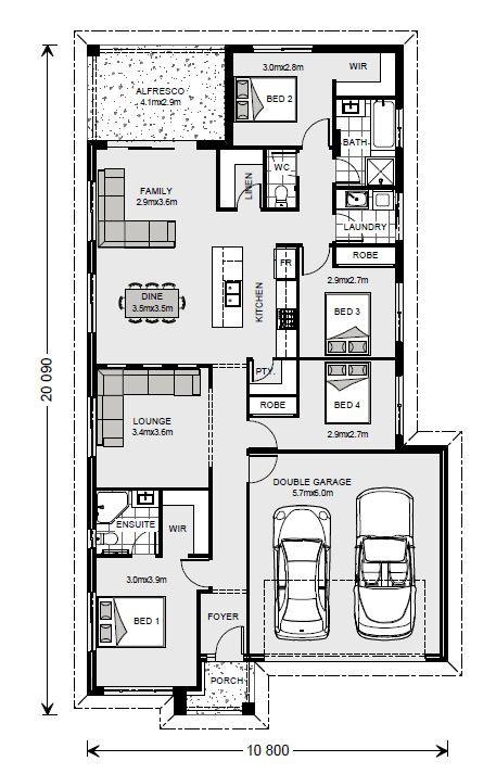 Bridgewater 190 - Express Series Floorplan