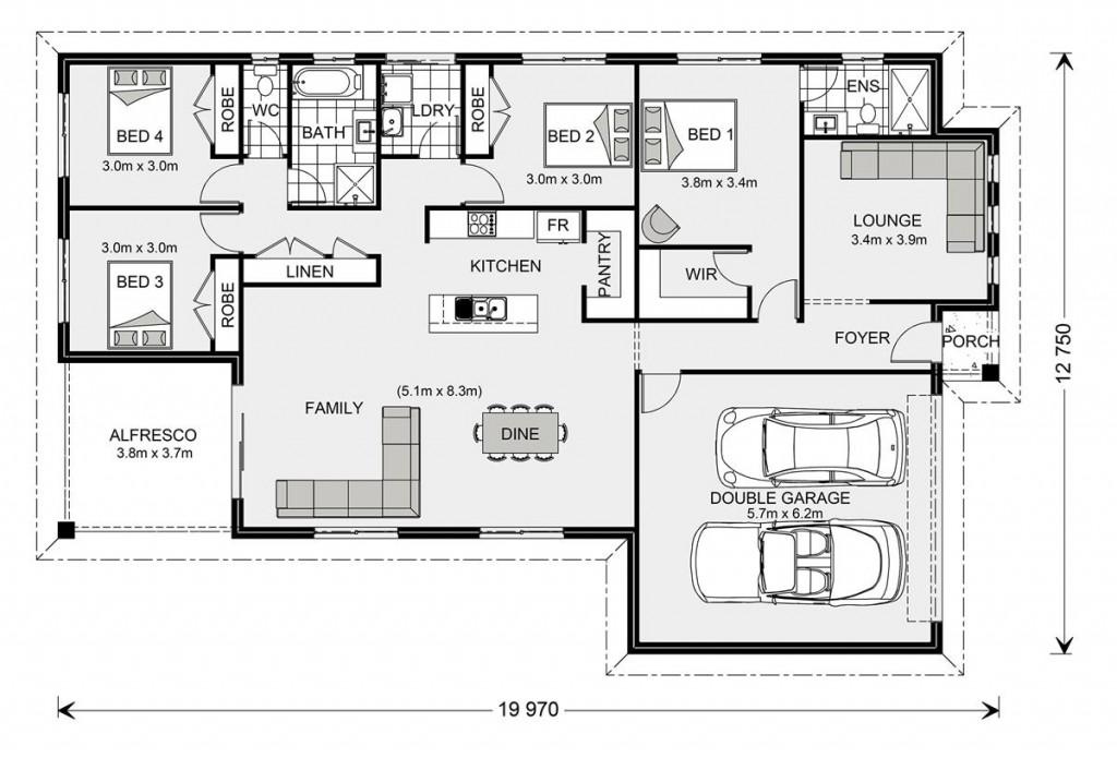 Woodridge 216 - Element Series Floorplan