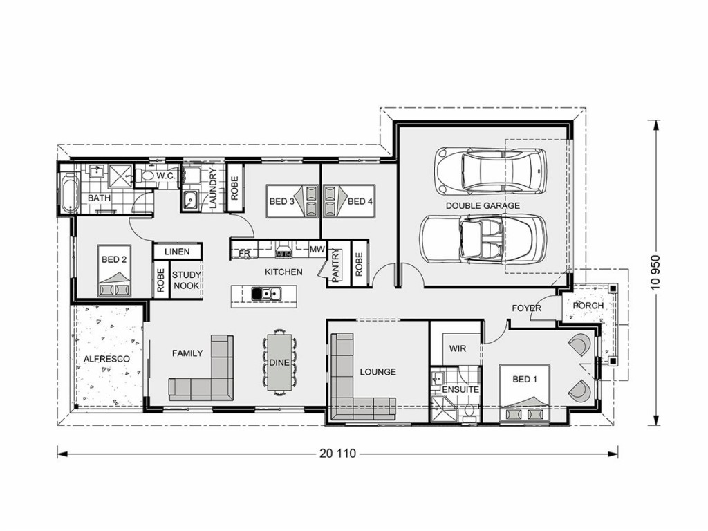 Bridgewater 186 Floorplan