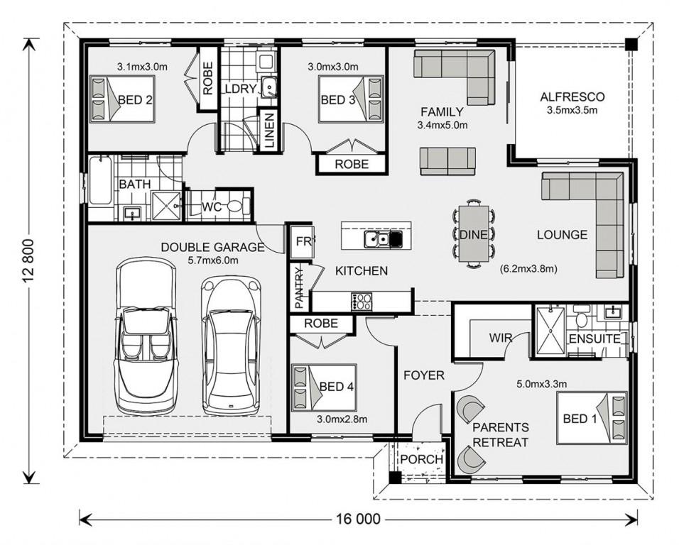 Brighton 195 - Element Series Floorplan