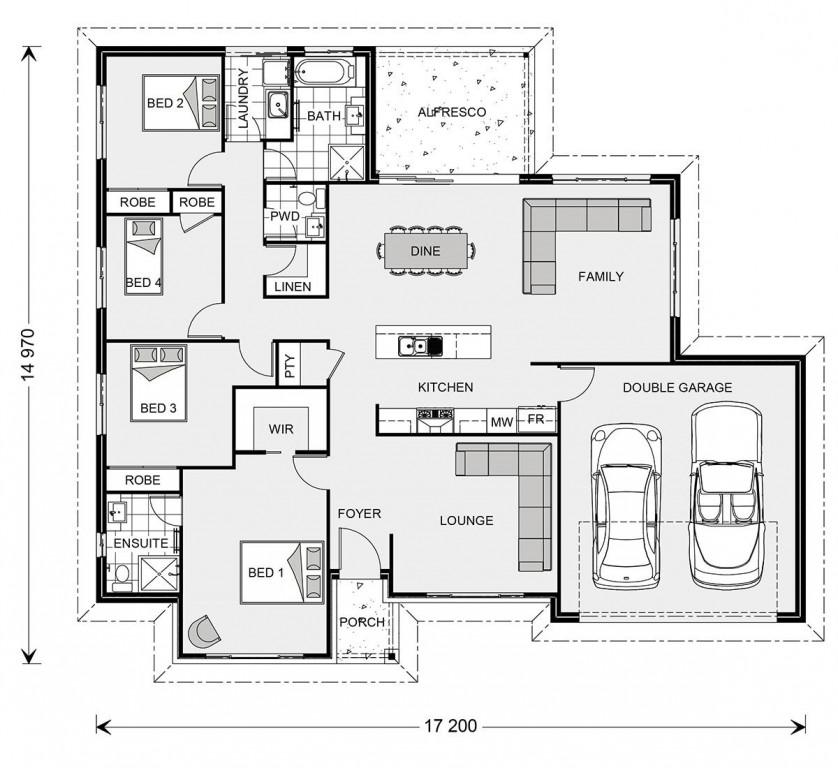 Wide Bay 209 - Element Series Floorplan