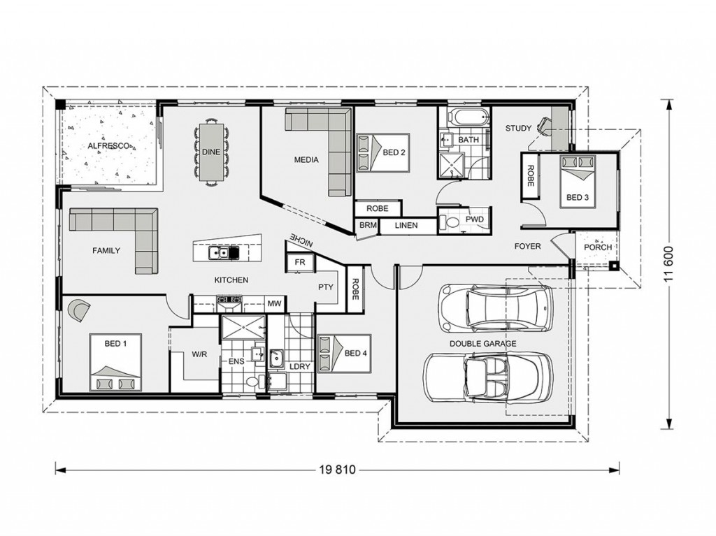 Beachlands 206 Floorplan