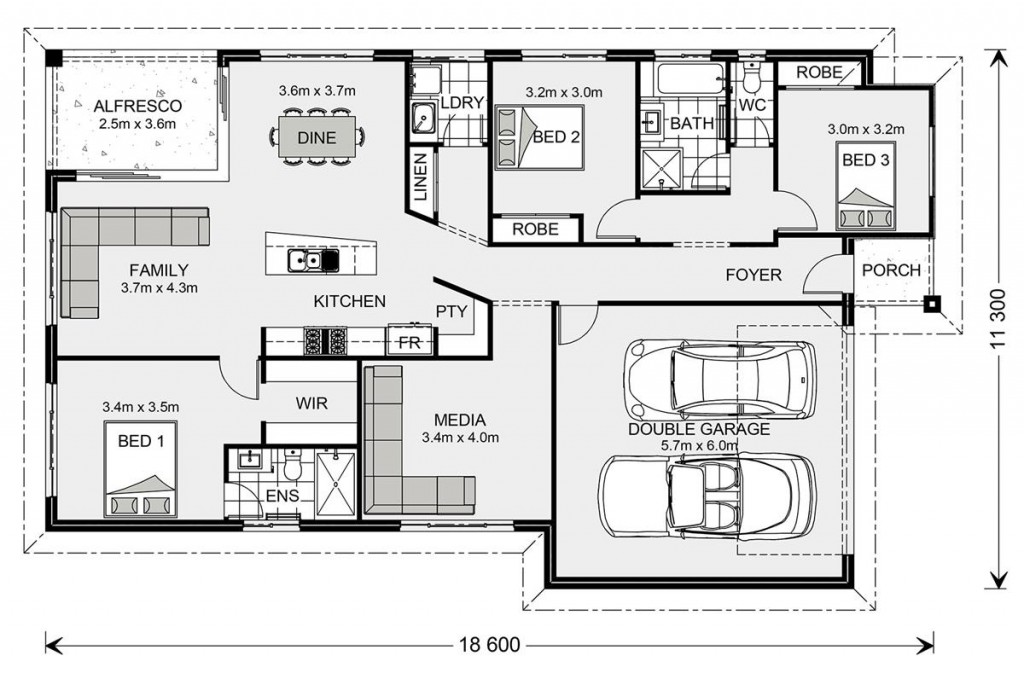 Beachlands 187 - Element Series Floorplan