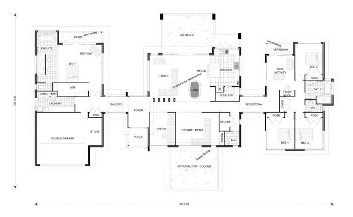 Rochedale 394 Floorplan